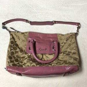 Coach Shoulder Bag (15443)